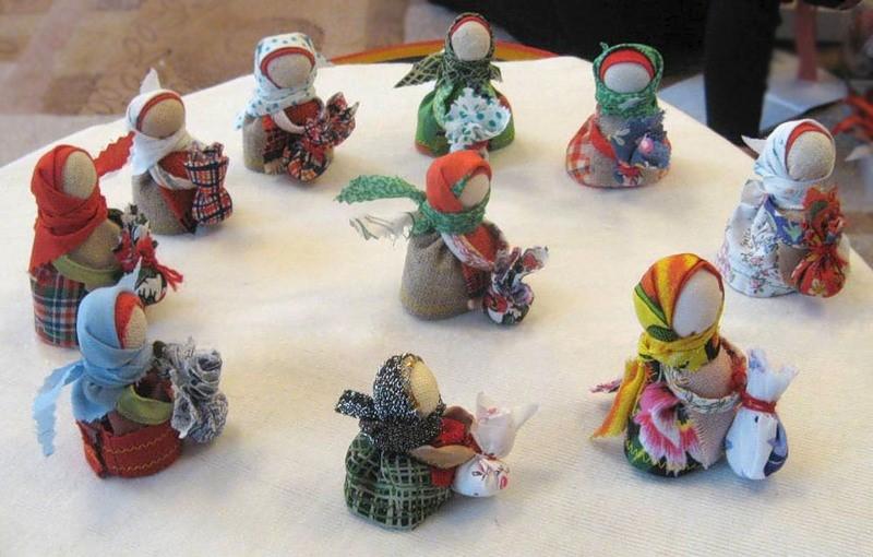 Славянские куклы-обереги: делаем своими руками